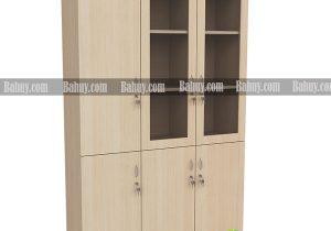 Nên dùng tủ tài liệu gỗ kín hay loại có cánh bằng kính