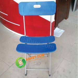 Ghế gấp chân sắt lưng nhựa giá rẻ