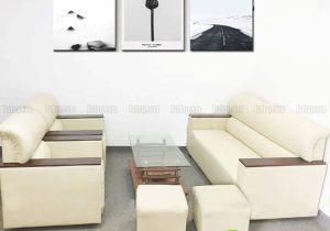 Sofa Nhật màu trắng 1m7 SFB-D-04