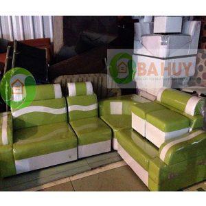 Thanh Lý Bộ Sofa Góc Da SFD01