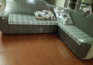 Sofa Góc Nỉ Băng Dài SFNB