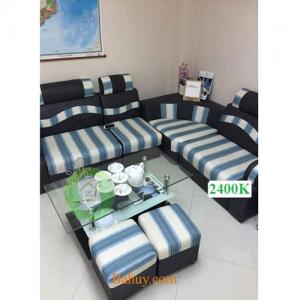Sofa Góc Nỉ SFN02
