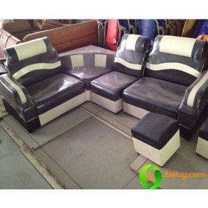 Riêng tư: Sofa góc da giá rẻ