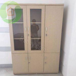 Tủ tài liệu 3 buồng gỗ Melamine
