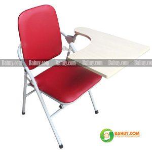 Ghế liền bàn chân sắt LB2 màu đỏ