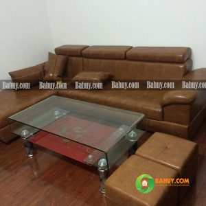 Sofa gật gù màu da bò SFL-D-01