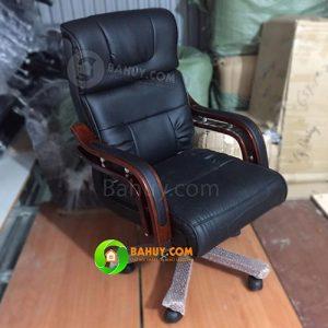 Thanh lý 10 ghế giám đốc tay gỗ giá rẻ