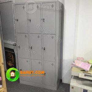 Thanh lý tủ sắt 9 ngăn