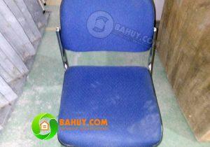 Thanh lý ghế chân quỳ nỉ mạ inox Hòa Phát giá rẻ