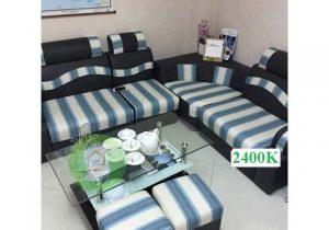 Sofa góc nỉ – SFN02