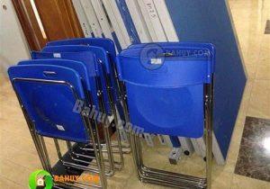 Thanh lý 50 ghế gấp chân inox Hòa Phát