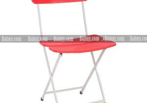 Ghế gấp ba lá màu đỏ G135D