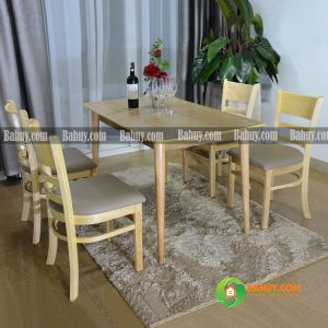 Bộ bàn ghế chân tròn xuất khẩu châu Âu