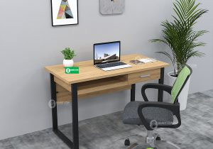 5 mẫu bàn làm việc chân sắt chinh phục mọi văn phòng hiện đại