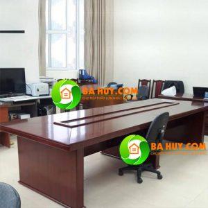 Thanh lý bàn họp cao cấp 3m5 x 1m2