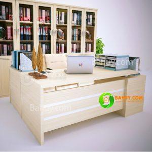 Thanh lý bàn giám đốc gỗ MDF 1,6 x 0,8m