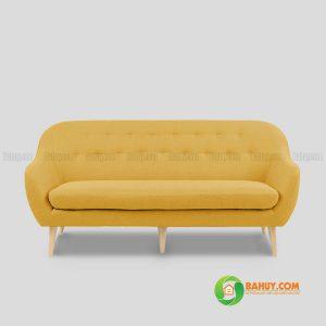 Sofa nỉ màu vàng 1m6 SFB-N-11