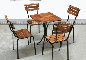 Ghế cafe gỗ thông ghép GCF3