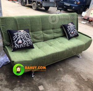 Thanh lý sofa Bed xanh ( sofa giường) giá rẻ