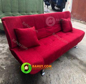 Thanh lý sofa Bed hồng ( sofa giường) mới 98%