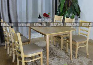 Các mẫu bàn ăn phong cách châu Âu cực đẹp tại Ba Huy