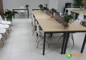 Giải pháp giúp nhân viên làm việc hiệu quả với bàn ghế văn phòng