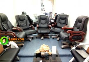 Hoàn thiện sự sang trọng cho phòng giám đốc với ghế giám đốc GD3