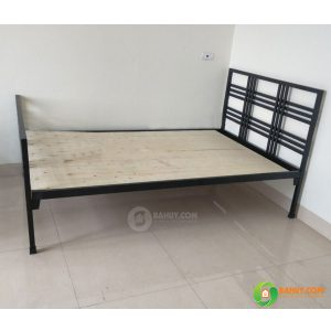 Giường sắt GS01 bền chắc, giá rẻ
