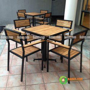 Bàn cafe gỗ thông