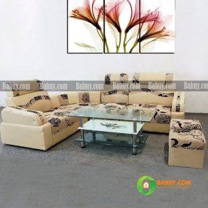 Sofa góc da nỉ – SFDN1