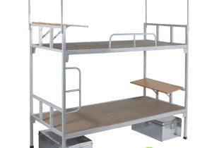 Mẫu giường sắt 2 tầng dành cho các khu tập thể và ký túc xá