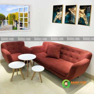 Băng sofa nỉ kích thước 1m6 không gối SFBN1m6