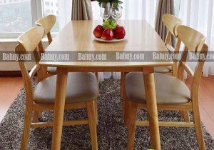Bàn ghế ăn Ba Huy có những mẫu nào nổi bật