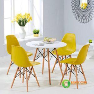Bàn ghế cafe Eames D600