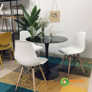 Bàn ghế cafe Tulip D600