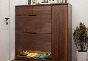 Ở nhà nên chọn mẫu tủ giày như thế nào?