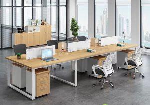 5 mẫu cụm bàn làm việc cho văn phòng diện tích hạn chế