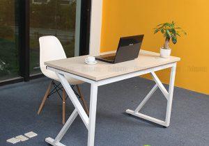 Tại sao nên lựa chọn các loại bàn làm việc chân sắt?