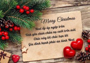 10 lời chúc Giáng Sinh ý nghĩa và hay nhất cho gia đình