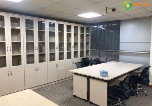 Tủ tài liệu gỗ cho không gian văn phòng nhỏ hẹp