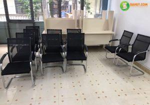 Ghế chân quỳ cố định sử dụng cho không gian phòng họp lịch sự