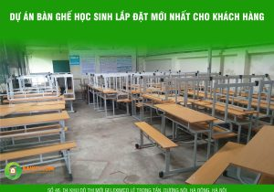 Bàn ghế trường học chất lượng giá rẻ Hà Nội
