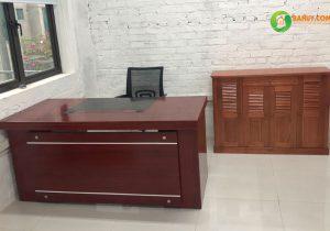 Bí quyết giữ gìn bàn giám đốc sơn PU bền đẹp như mới