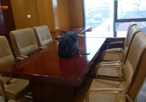 Nội thất Ba Huy nhận thi công bàn họp theo yêu cầu