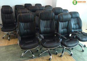 Tại sao nên ưu tiên lựa chọn ghế xoay da cho phòng giám đốc?