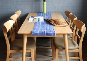 Bộ bàn ghế ăn Mango 6 ghế có ưu điểm gì?