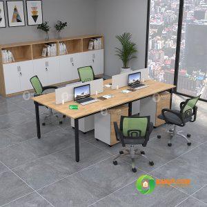 Cụm bàn gỗ cao su C2412