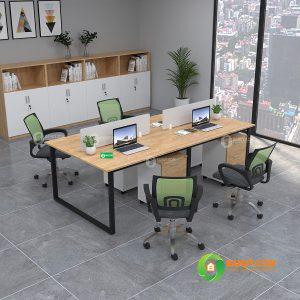 Cụm bàn gỗ cao su U2412