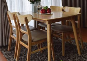 Gợi ý bàn ghế phòng ăn sang trọng cho khách hàng